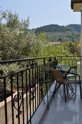 Mountain View 4Bed private studio - Loutraki, Skopelos - House