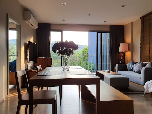 2BR with mountain view @ 23 Degree Khao Yai
