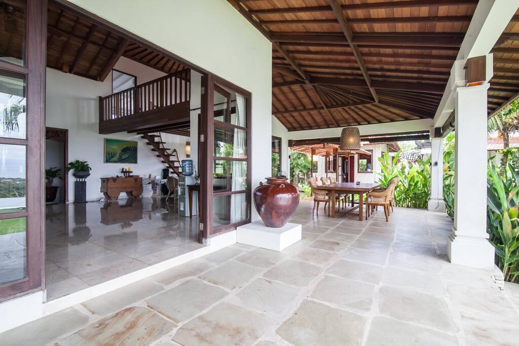 5br villa, sea view, private staff