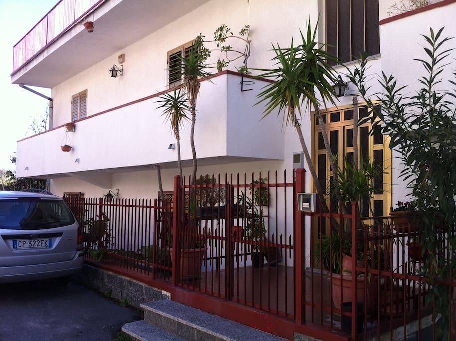 Veduta ingresso Rosa di Calabria