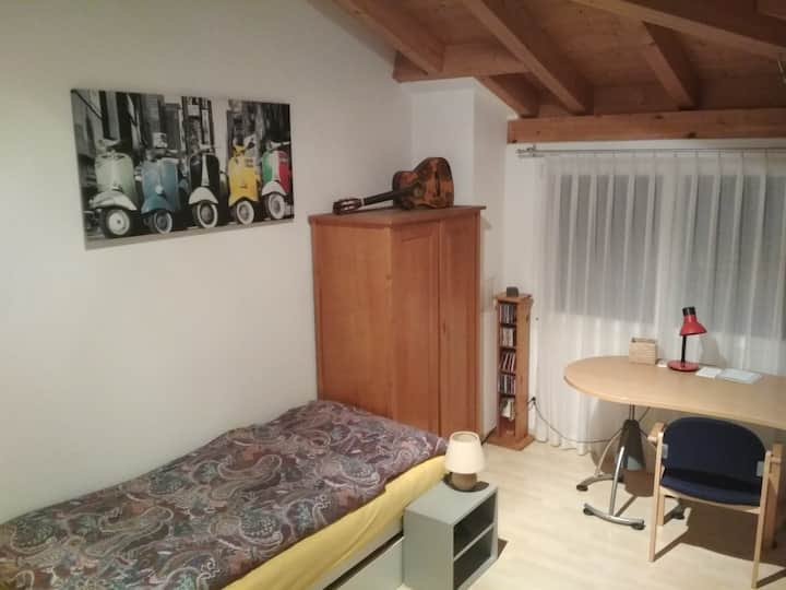 gemütliches Zimmer in Walenstadt
