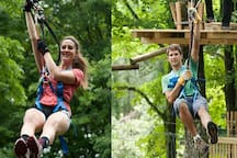 Activities, Attractions and Entertainment All Year Round in Bushkill PA.