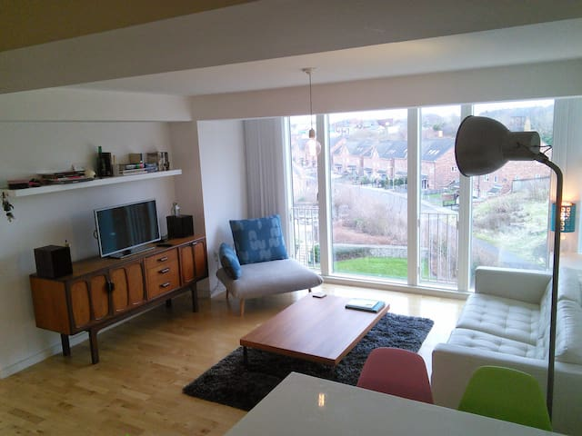 Stylish modern flat, central Leeds