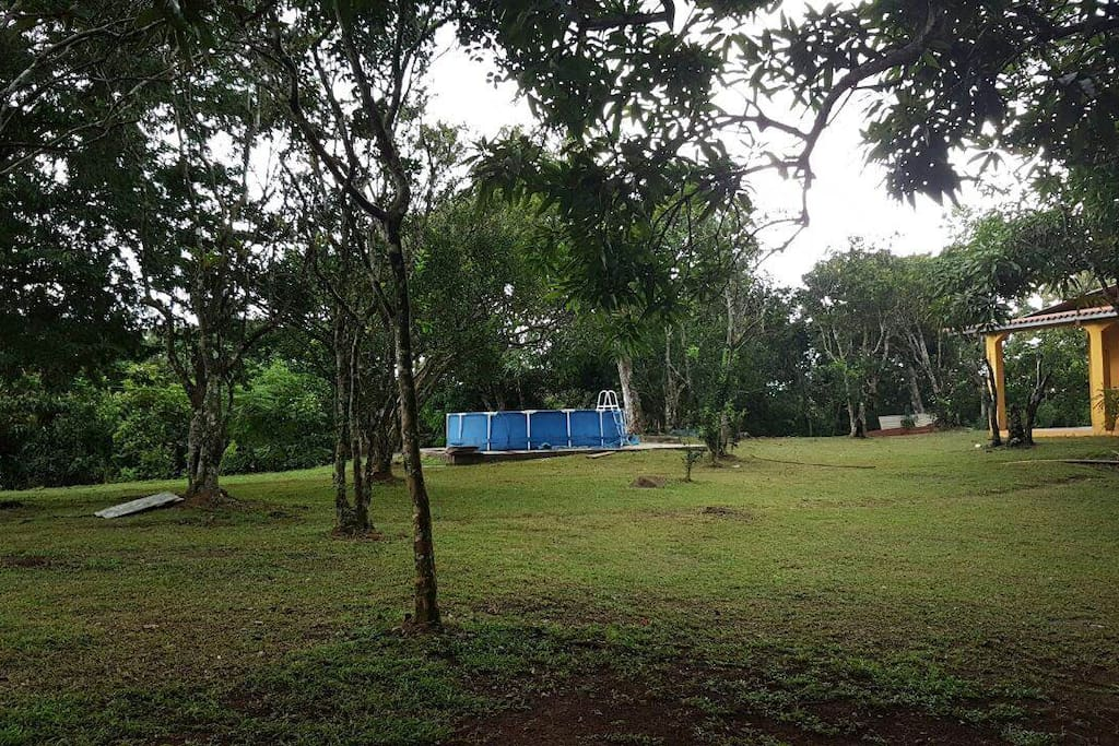 We have the best camping area with swimming pool for a great experience.