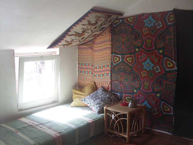 >> chill and cosy bedroom in the city center << - Bruxelles - House
