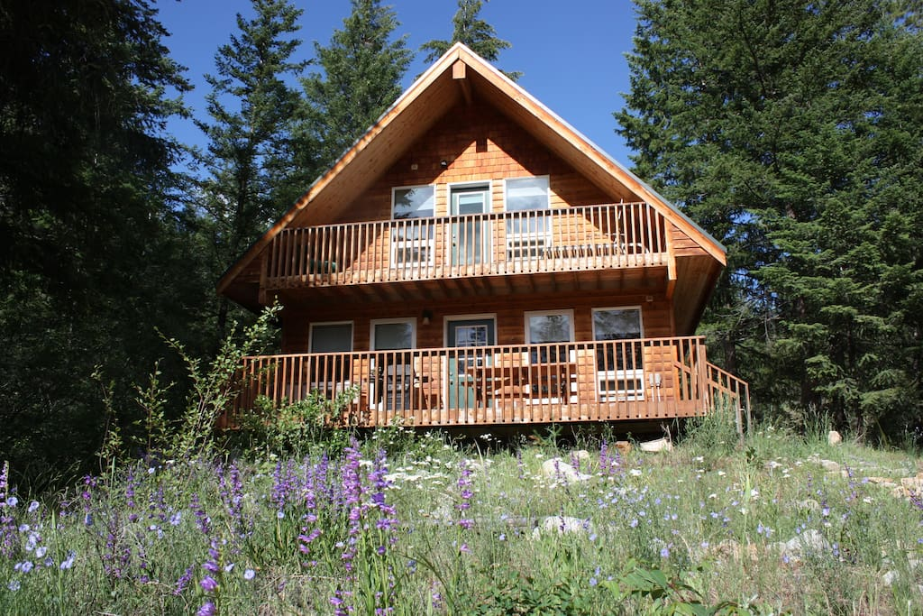 Cabin on fawn creek available now cottages for rent in for Winthrop cabin rentals