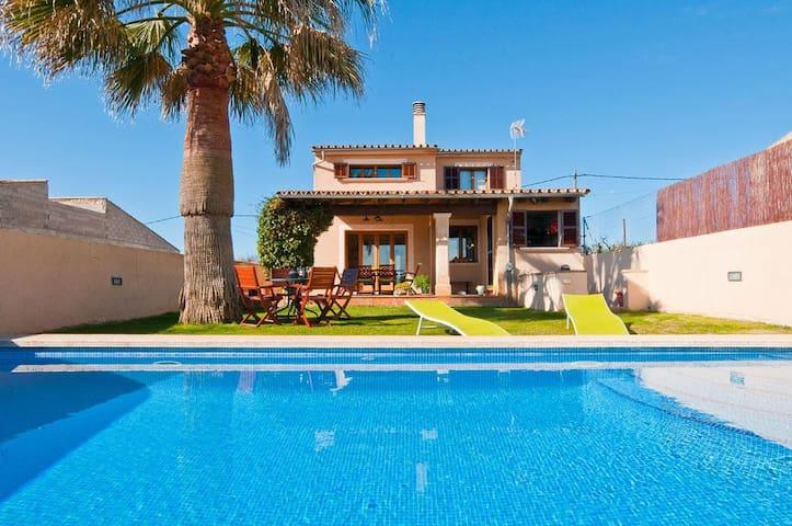Village house with pool - Vilafranca de Bonany - Dům