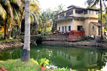Authentic Shantiniketan Mud Villa - Santiniketan