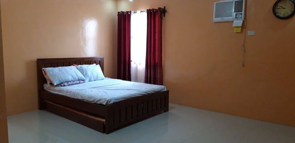 Queen Bed with Pull out Bed