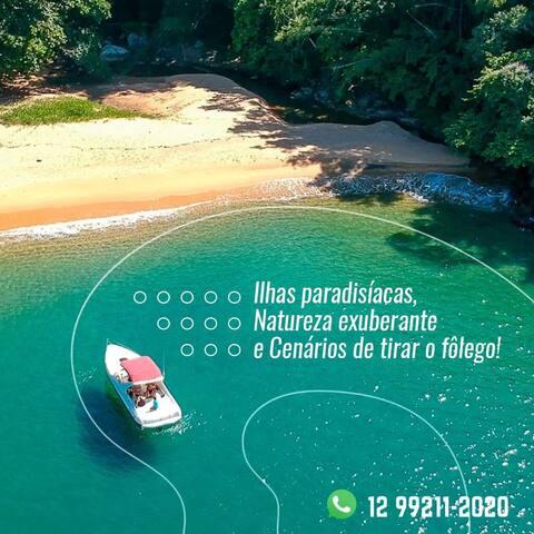 Ribeira Charter Aluguel Barco no Saco da Ribeira