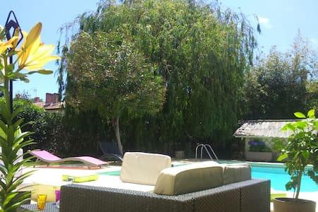 Suite privée avec piscine - Villeneuve-lès-Béziers