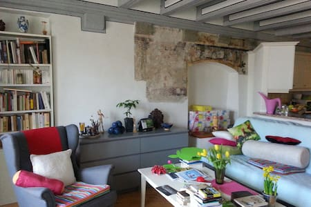 Comfort flat in historic building - Morges - アパート