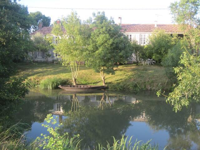 Gite à Damvix dans Marais poitevin