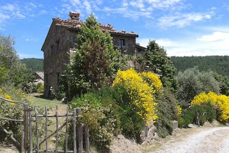 Romantic cottage with large garden - Piegaro