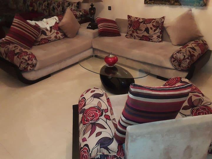Appartement bien équipée a Casablanca