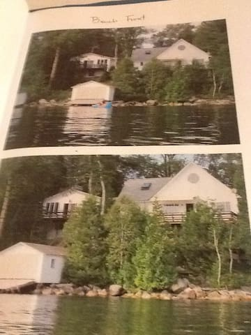 Willoughby Lake Lakefront cottage - Westmore - Casa