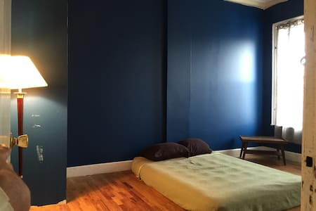 Large Sunny Room w/ Double Bed in Bushwick near L - Brooklyn