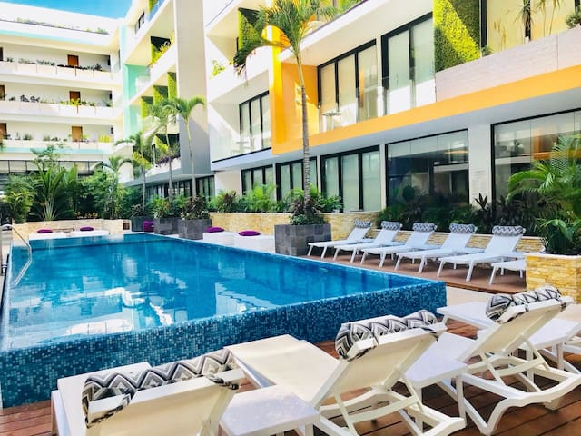 1 Bedroom, 1 Bath Sleeps 4 Playa del Carmen, Quintana Roo 77710, Mexico