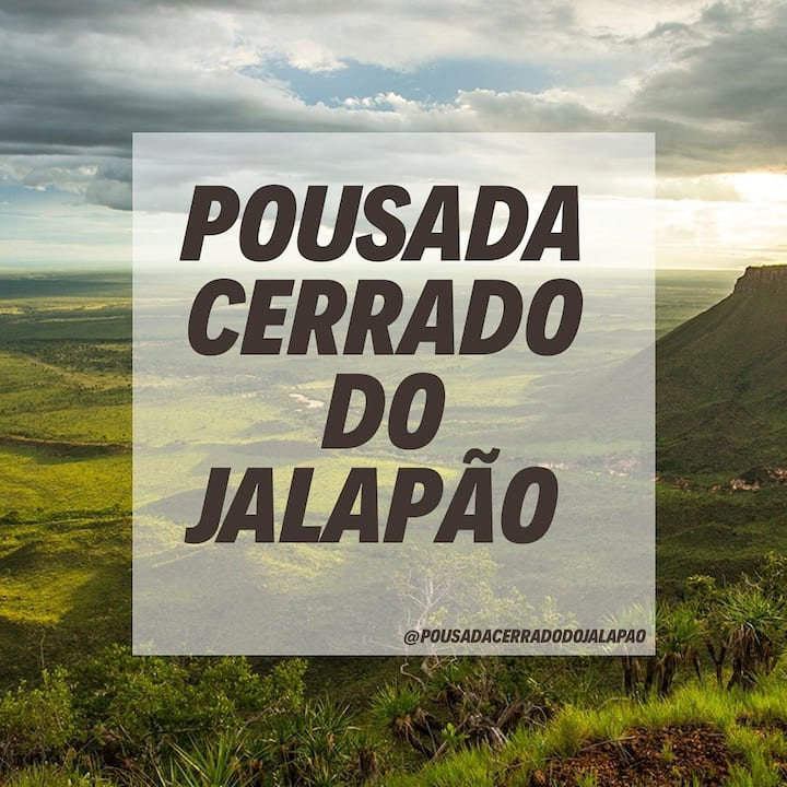 Pousada Cerrado do Jalapão- Quarto de Casal