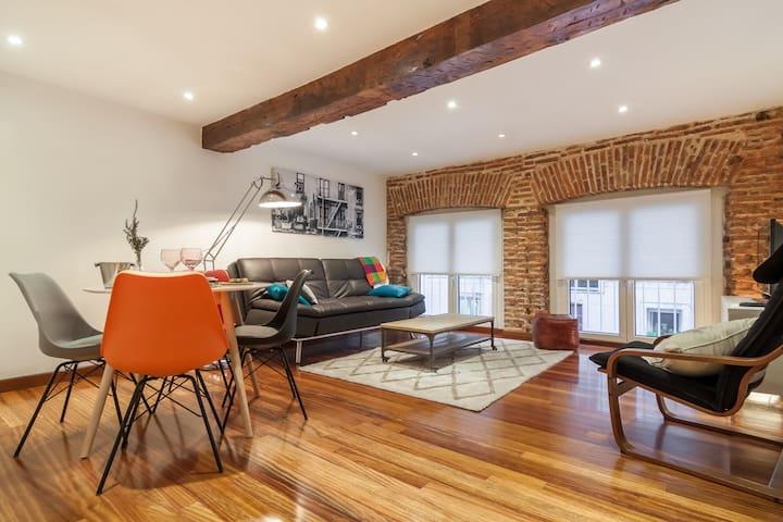 Apartamento Centrico Estilo Loft - ซานตานเดร์ - อพาร์ทเมนท์