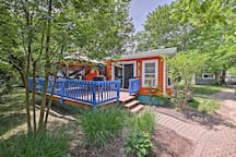 This Middle Bass Island vacation rental villa sleeps 6 guests.
