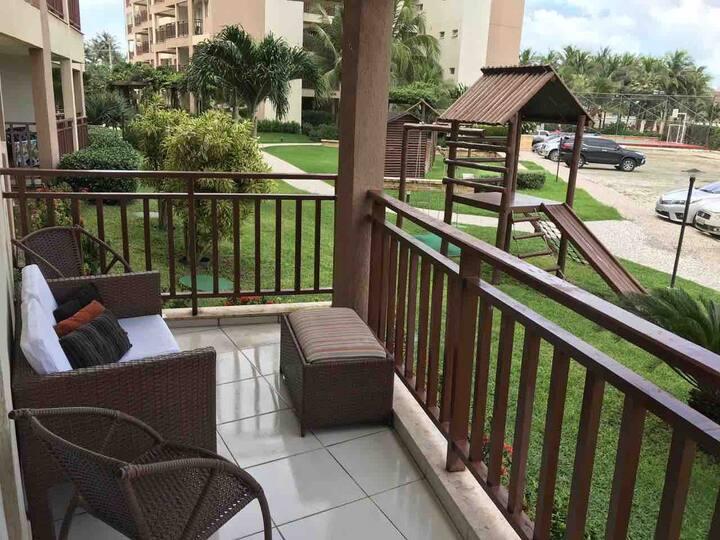 Apartamento Wellness Resort Frente Parque Aquático