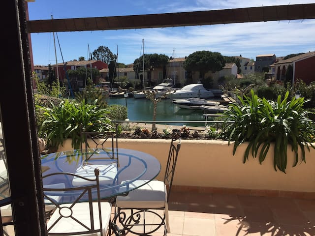 Beautiful duplex apartment in Port Grimaud - Grimaud - Pis
