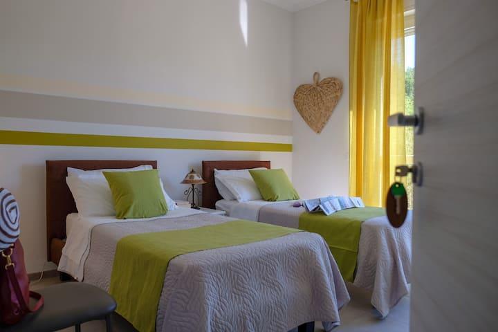 BNB Airone | Green room