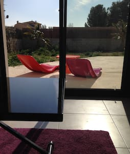 Studio of 20 m2 in new contemporary villa - Lignan-sur-Orb - House