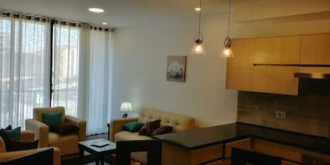 Apto de Lujo totalmente equipado zona residencial
