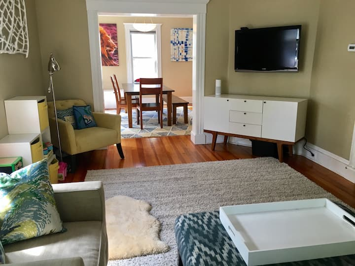 Updated single family steps to Roslindale Village