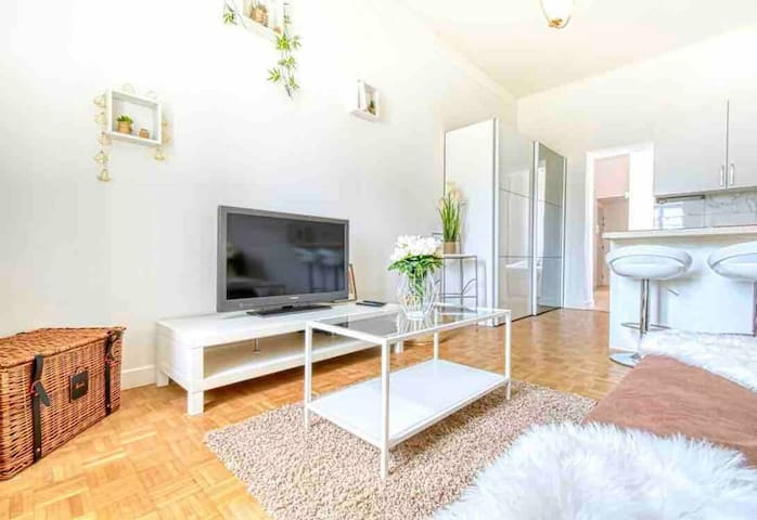 CHARMING AND BRIGHT APARTMENT - NEAR CANNES TRAIN STATION