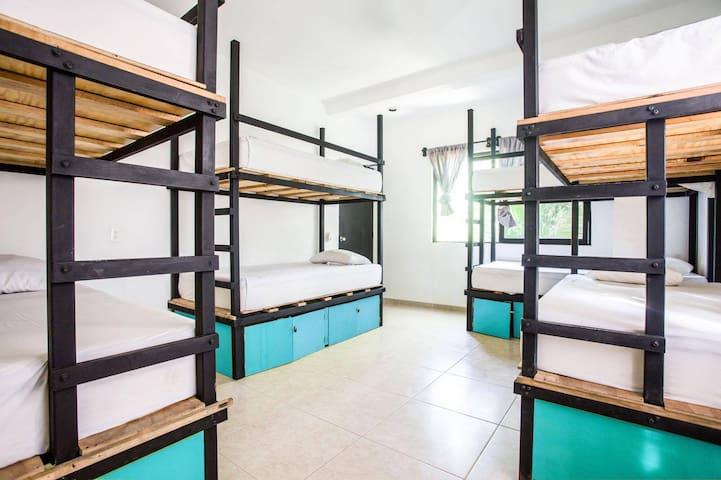 Che Holbox Hostel - Cama en Dormitorio  Compartido