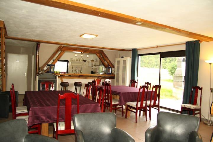 Chambre d'hôtes Le-Parc - Méry-és-Bois - Domek gościnny