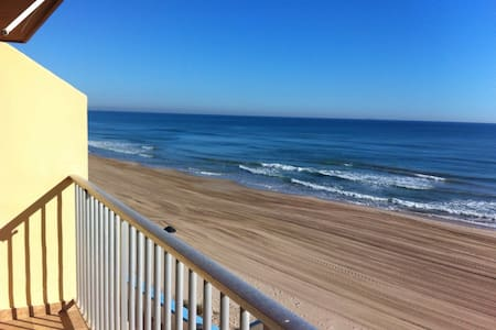 Apartamento en primera linea de mar - Mareny de Barraquetes (playa del Rey)