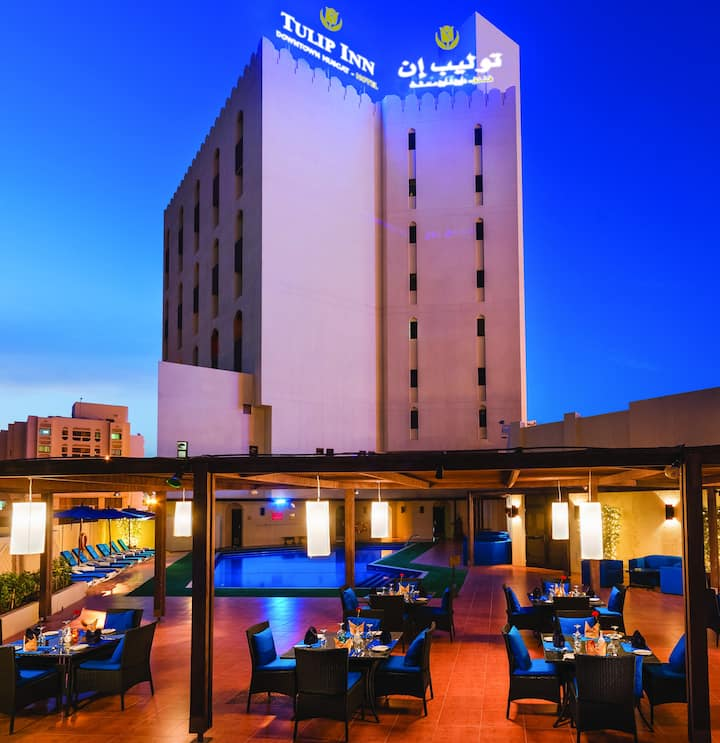 TULIP INN DOWNTOWN MUSCAT.