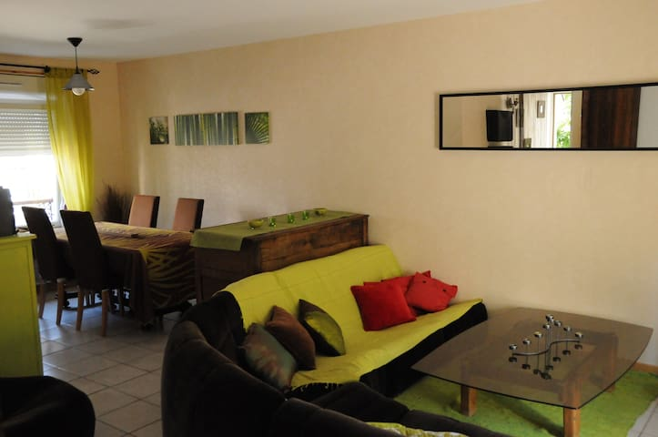 Maison de ville + terrasse & jardin - Épinal - Casa