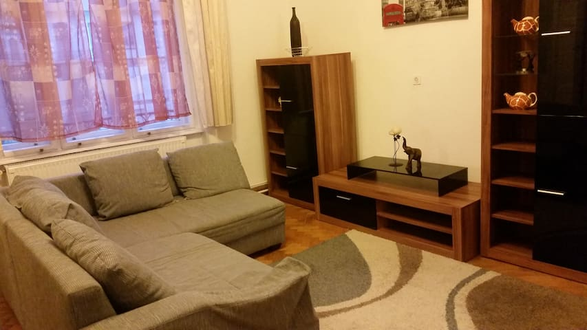 Spacious air-conditioned inner city apartment
