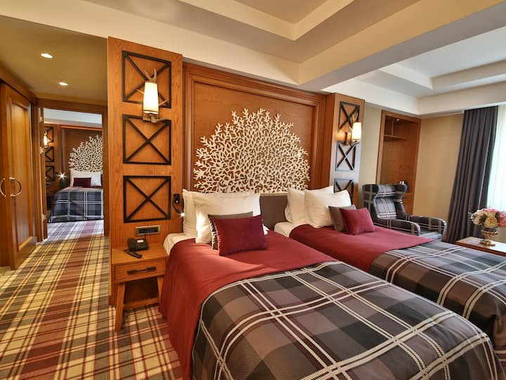 Bof Hotel Uludag Ski Resort - Family Suit Triple Room