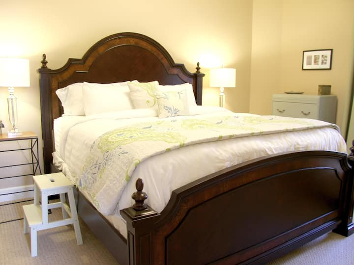 Reeve House (Main Floor- King Bed Suite)