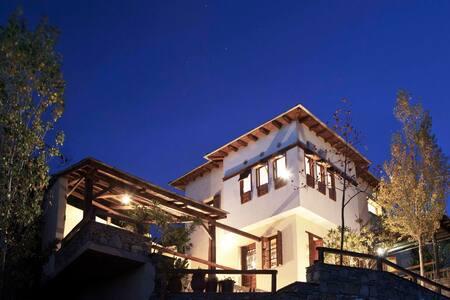 PELION HOMES | VILLA SELINI with amazing sea view - Agios Georgios Nilias