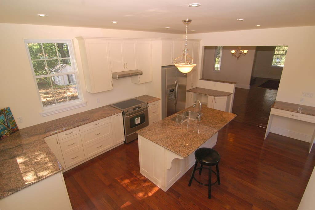 Gourmet Kitchen, immediately adjacent to dining room.