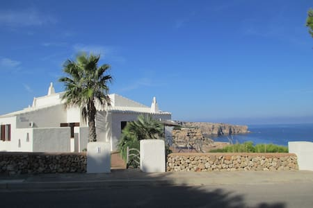 House with spectacular sea views  - Ciudadela de Menorca