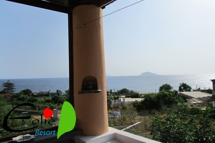 Isola di Salina Crystal Blu - Santa Marina Salina - Apartamento