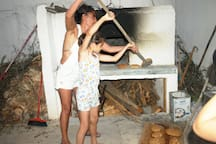 "...baking traditional bread. Encouraging our guests to live the experience of the local tradition. ""Two arch type houses in Archangelos Rhodes - Ambassadors of Hellenic culture."