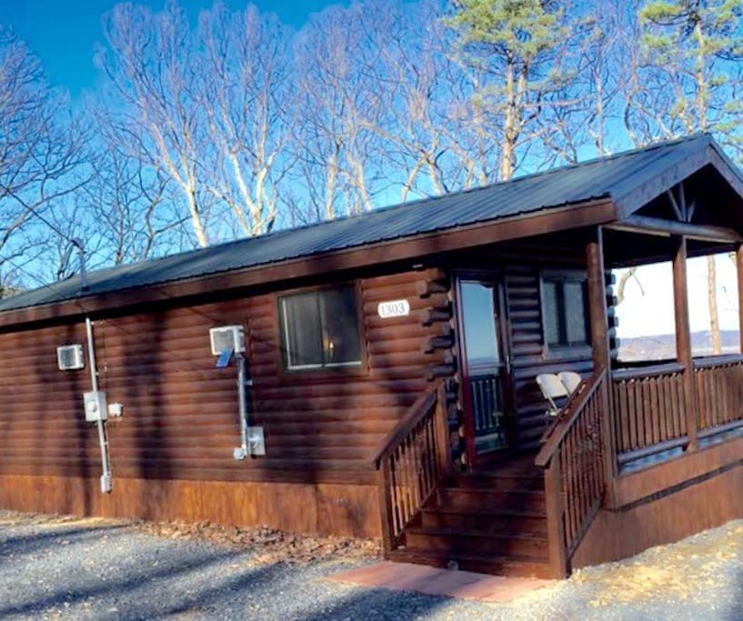 Vacation Cabin Beautiful View Quiet Cabins For Rent In