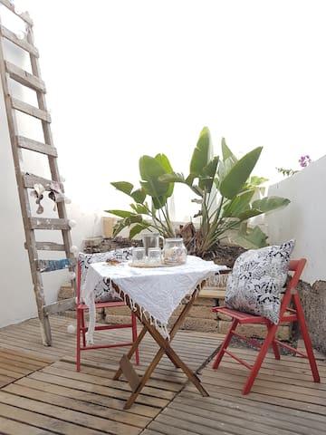 Apartamiento del viento, El Medano