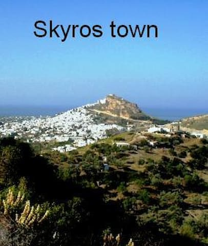Studio in Skyros town - Skyros - Appartement