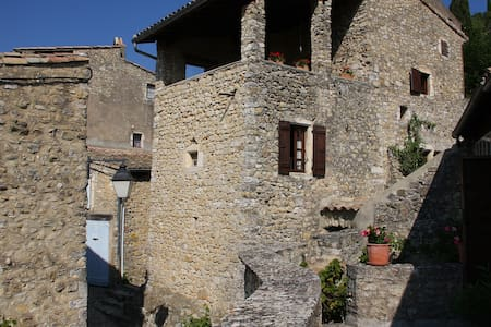 La Tour du Bagnard - Mirmande - Rumah