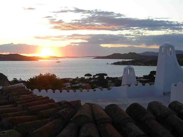Sa Rocca. Seaview villa in Sardinia